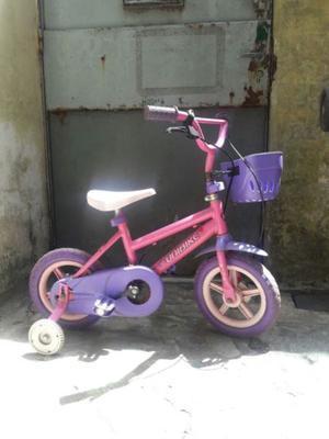 bicicleta para niña rodado 12 poco uso