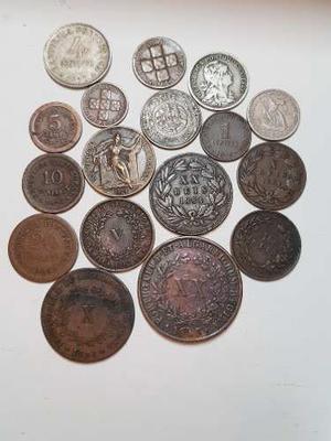 Ch C / Subasta 05 - Lote X 17 Monedas De Portugal Desde