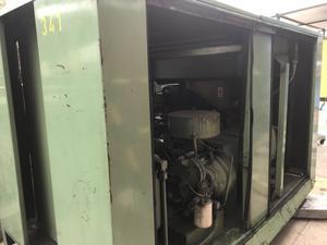 Compresor Sullair  de 60hp funcionando envío al