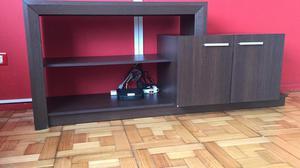 Liquido mueble/rack para TV por mudanza! Esta como nuevo