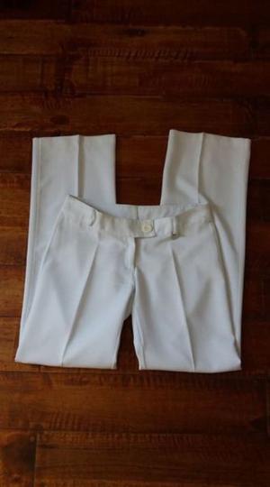 Pantalón de vestir de hilo. Eva Miller, sin uso. Talle 1 2