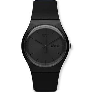 Reloj Swatch Black Rebel Suob702 Hombre Envio Gratis