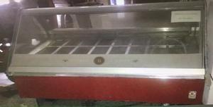 Vitrina freezer exhibidora de helados orion italiana