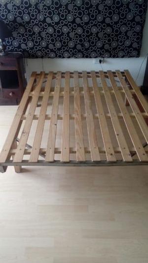 cama y colchon de dos plaza