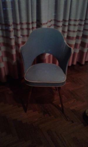 vendo dos sillones antiguos juntos o separados $ c/u