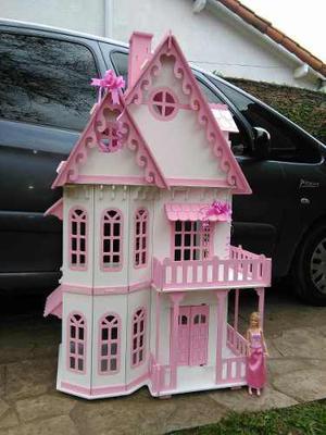 Casita De Muñecas Barbie Con 25 Muebles Gigante!!!