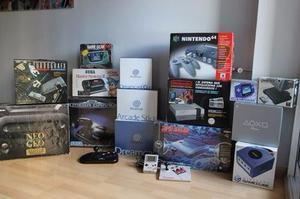 Compro Consolas de juegos Retro Completas