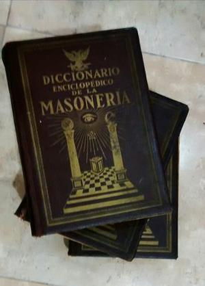 Diccionario Enciclopedico De La Masoneria. Editorial Kier