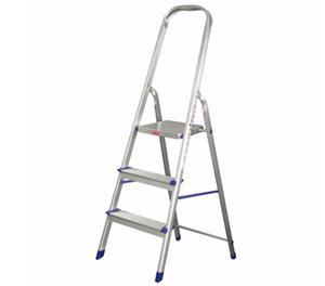 Escaleras de Aluminio 3,4,5 y 6 Escalones Hasta 150kg
