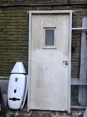 Liquido puerta maciza de madera