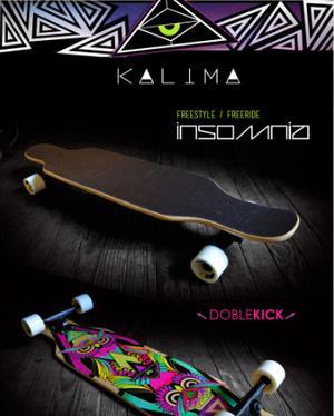 Longboard Kalima maple