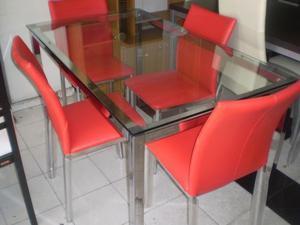 Mesas de comedor microcemento posot class - Mesa comedor vidrio ...