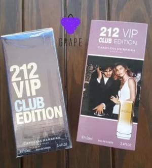 Perfume importado men 212 club vip 100 ml edt