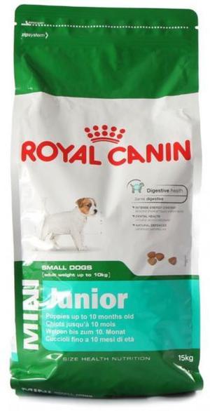 ROYAL CANIN MINI JUNIOR X 15KG ENVIOS A DOMICILIO SIN CARGO