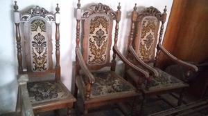 Dos sillones antiguos posot class - Sillas y sillones clasicos ...