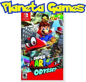 Super Mario Odyssey Nintendo Switch Fisicos Nuevos Caja
