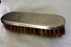 Antiguo Cepillo pequeño, de madera con cubierta de acero
