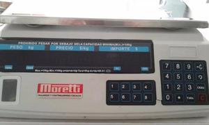 Balanza Comercial Electronica Moretti