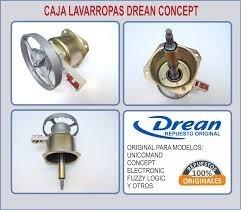 Caja Lavarropas Drean Concept156 Fuzzy Logic206 Unicomand116