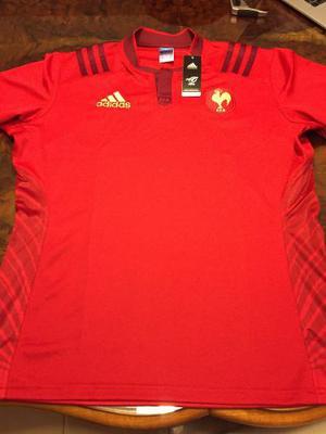 Camiseta rugby selección francia alterna adidas c etiq 649b0fd31f82d