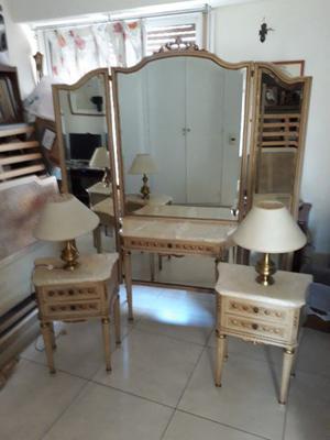 Juego dormitorio Estilo Luis XVI
