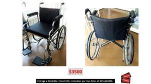 Vendo silla de ruedas