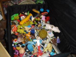 gran lote de muñecos mac donals y otros
