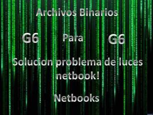 Archivos Binarios Solucion Problemas De Luces G6 Ec-bios