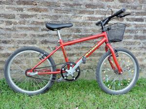 Bicicleta Infantil Rodado 16 con Canasto y casco