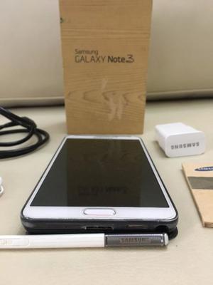 Liquido Samsung Note 3 Libre de fabrica completo en caja