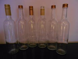Botellas De Vino Vacías (precio Por Unidad)