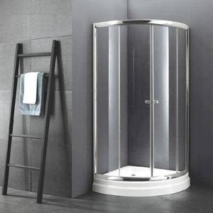 Box ducha spa receptaculo c mampara vidrio posot class - Cabina ducha rectangular ...