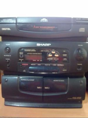 Equipo de musica Sharp