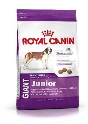 ROYAL CANIN GIANT JUNIOR X 15KG ENVIOS A DOMICILIO SIN CARGO