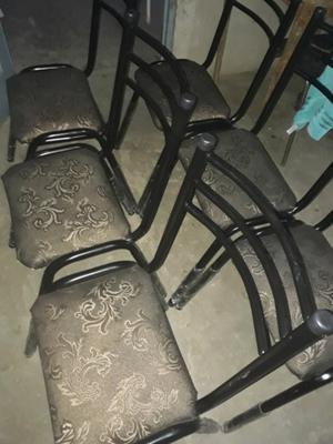 Vendo 6 sillas nuevas