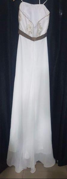 Vestido de Novia y Zapatos Diseñadora Alta Costura Sin uso