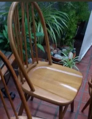 1 silla windsor torneado liso escandinava