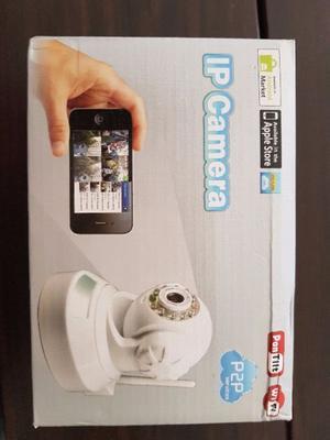 Camara vigilancia P2P wifi inalambrica mira desde el celular