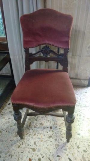 Juego sillas luis Xlll