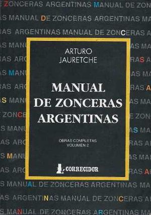 Manual De Zonceras Argentinas - Arturo Jauretche - Digital