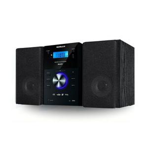 Microcomponente Noblex Mm43bt 400w Bluetooth Cd Mp3 Usb Amfm