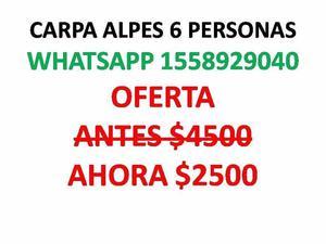 OFERTA. CARPA 6 PERSONAS IGLU $$$ . ALPES (IMPERMEABLE 2