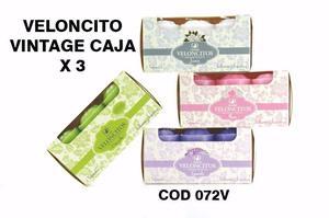 Veloncitos vintage pack x 3u