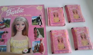 Vendo lote de 50 sobres llenos de figuritas de barbie trajes