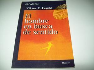 Viktor Frankl - El Hombre En Busca De Sentido - Nuevo
