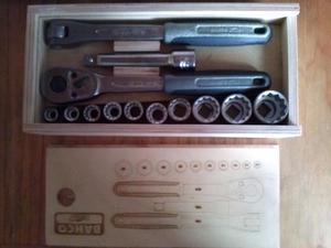caja de herramientas bahco,taladro,caladora y otra caja de