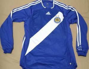 Camiseta Dynamo Kiev Adidas original de epoca, excelente