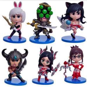 Figuras League Of Legends 12 Modelos - Precio Por Unidad