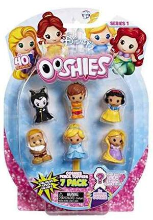 Ooshies Disney Princesas Tapimovil, Pack De 7 Originales