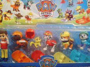 Paw Patrol Patrulla Marshall Skie,,chase..rocky.x5 Oferta!!!